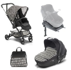 DUO Jane Cochecito bebe Minnum + i Matrix + Base isofix Cactus