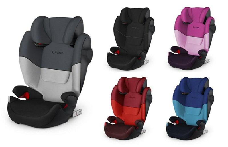 Silla De Auto Cybex Solution M Fix Sl Grupo 2 3 Las4lunas