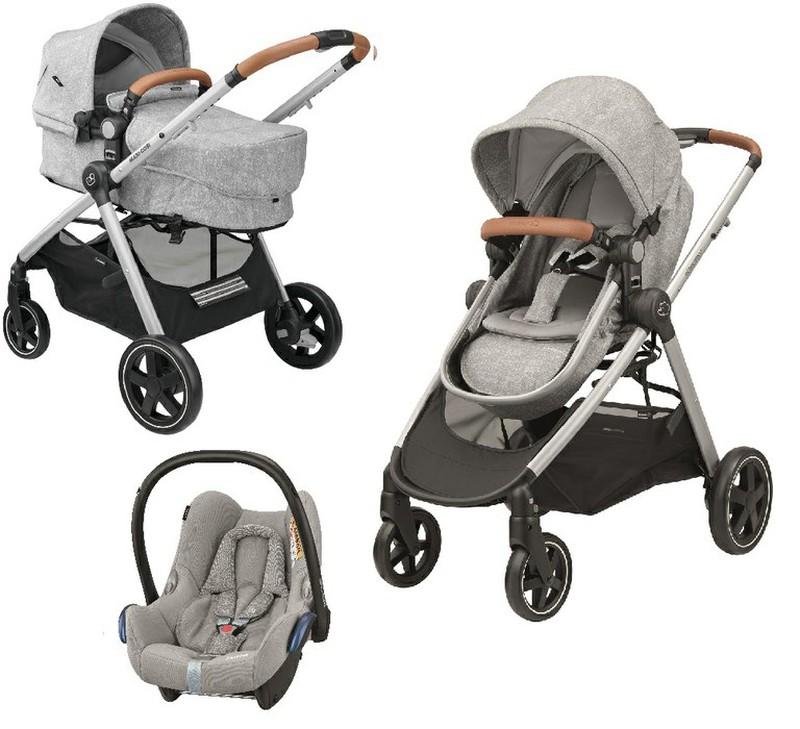 Cochecito trio Zelia 2 en 1 de Bebé Confort